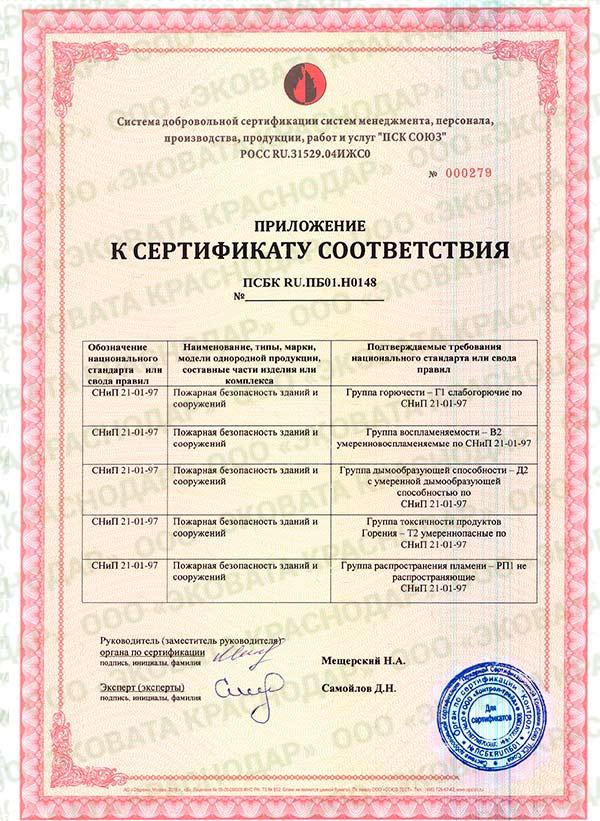 сертификат эковата приложение Утепление эковатой. Теплоизоляция эковата. Звукоизоляция.